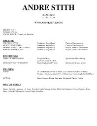 doc singer resume sample velvet template musician smlf format gallery of singer resume template