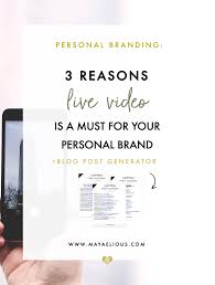 why periscope is a must for building a personal brand when i first heard of periscope i didn t immediately grasp the concept it was a little strange and i was hesitant about joining another social media