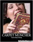 Images & Illustrations of carpetmuncher