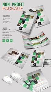 tri fold brochure word pdf psd eps non profit package