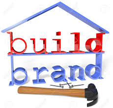build your business house company brand identity ad and build your business house company brand identity ad and promotion strategy stock photo 25701715
