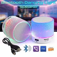 <b>LED Portable Mini Wireless</b> Bluetooth Speakers with USB and TF ...