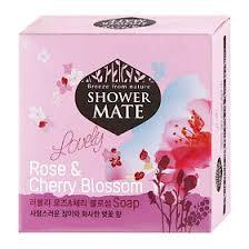 Kerasys <b>Shower Mate Мыло косметическое</b> Роза и вишневый ...