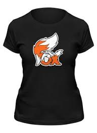 """Женские футболки c неординарными принтами """"fox"""" - <b>Printio</b>"""