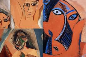 african art s influence on pablo picasso s cubism paintings close