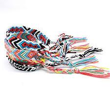 <b>Friendship Bracelets</b> for Men Women Handmade <b>Boho</b> Woven ...