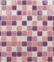 <b>Мозаика Caramelle</b> Lavander <b>стеклянная</b> 298х298х4 мм глянцевая