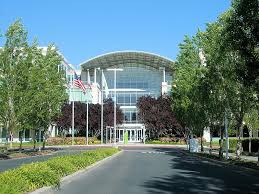 apple headquarters 1 infinite loop building 1 located in cupertino ca apple cupertino office