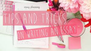 essay planning tips tricks ♡