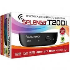Приставка DVB-T2 <b>Selenga</b> T20DI приёмник <b>цифрового</b>