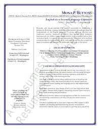 esl teacher resume sample page 1 teacher resume templates