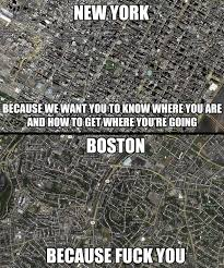 New York Vs Boston | WeKnowMemes via Relatably.com