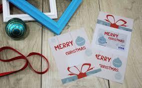 printable merry christmas gift card holder gcg the matching folded merry christmas gift card holder