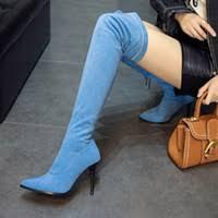 <b>Big Size</b> Thigh Boots Online