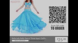BellyLady <b>Belly Dance</b> Three-layer <b>Chiffon</b> Hemming Skirt from ...