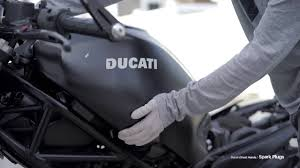 Changing Spark Plugs: <b>Ducati Monster 695</b> - YouTube