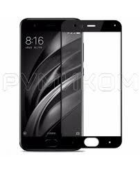 <b>Защитное стекло 5D</b> для смартфона Xiaomi Mi6 (черный ...