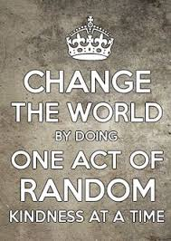 Image result for random act of kindness