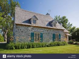 cottage style home th century fieldstone cottage style home quebec canada