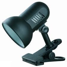 <b>Настольная лампа</b> Е27 60Вт черн с прищепкой <b>H</b>-<b>035</b> С02 ...