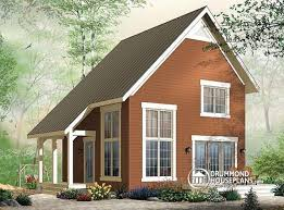 House plan W detail from DrummondHousePlans com    front   ORIGINAL MODEL bedroom transitional style cottage design    mezzanine and cathedral ceiling