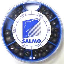 "<b>Грузила Salmo</b> ""<b>Дробинка PL</b>"", 6 секций, крупные. 1007-KP120 ..."
