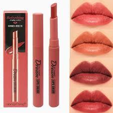 <b>6 Colors</b> Velvet <b>Sexy Lip</b> Matte <b>Lipstick</b> Pumpkin <b>Color</b> Non stick ...