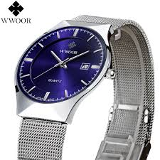 New Fashion top <b>luxury brand</b> WWOOR <b>watches</b> men <b>quartz watch</b> ...