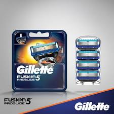 <b>Сменные кассеты</b> для бритья <b>Fusion5</b> ProGlide | <b>Gillette</b>