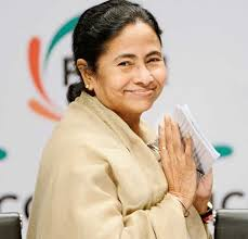 """Mamata Banerjee. """"Rabindranath Tagore will remain immortal in the minds of people and his work will inspire us for ages to come,"""" she said in her speech. - Mamata-Banerjee"""
