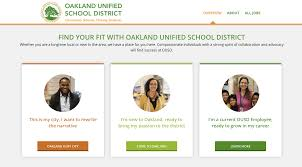 what the oscar flub teaches us about career site design oakland unified school district career site