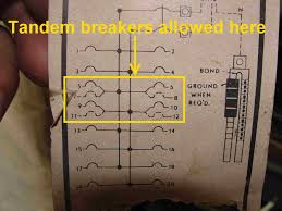 how to know when tandem circuit breakers can be used (aka Breaker Panel Wiring Diagram Breaker Panel Wiring Diagram #58 circuit breaker panel wiring diagram