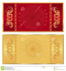 gold voucher gift certificate coupon ticket stock photography gold ticket voucher gift certificate coupon stock images
