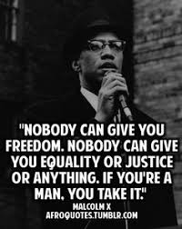 Malcolm X on Pinterest   Malcolm X Quotes, Muslim and Islam via Relatably.com