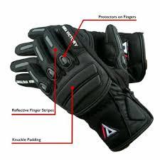 <b>Summer</b> gloves Prima Flow Black Motorbike Motorcycle Gloves ...