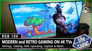 Modern & <b>Retro</b> Gaming on 4K TVs :: RGB106 / MY <b>LIFE</b> IN GAMING ...