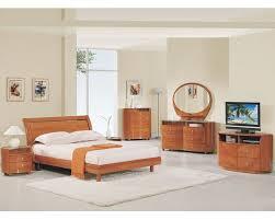 Modern Bedroom Set Modern Bedroom Set Elma In Cherry Finish 35b11