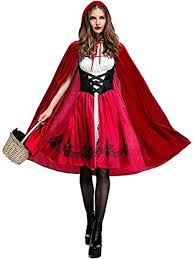 Women Little Red Riding Hood Costume Christmas ... - Amazon.com