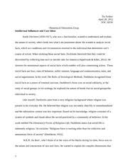 compare ampamp contrast essay  social class and childrearing   tia   pages essay on emile durheim and web du bois