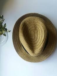 <b>Шляпа</b> с черной тесьмой <b>la redoute</b> пляжная отдых <b>La Redoute</b> ...