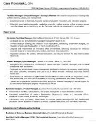 great project manager resume cover letter examples and samples great project manager resume experienced it project manager resume sample monster corporate facilities manager resume for