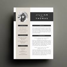 creative resume template and cover letter template for word 🔎zoom
