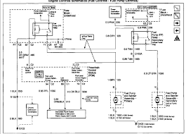 wiring diagram for a gmc yukon for the fuel pump circuit graphic