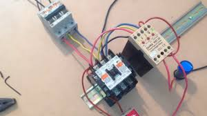 <b>Phase</b> failure and under & over voltage master control motor circuits ...