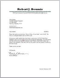 Cover Letter Journal Submission Cover Letter Suggested Cover