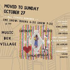 "Leyla McCalla's ""The Capitalist Blues"" DOOR 10/27 SUNDAY"