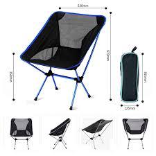 <b>Portable Camping Beach</b> Chair Lightweight <b>Folding</b> Fishing Outdoor ...