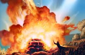 Image result for Elijah at Mount Carmel