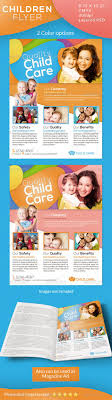 best images about flyer day care kid and fonts children care flyer magazine ad