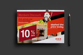 sushi restaurant flyer template for photoshop illustrator sushi restaurant flyer template